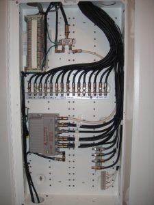 Coaxial wiring project